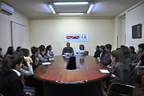 Mathevosian scholars come from all regions of Armenia and they study atvarious institutions around the country, the majority of whom are at Yerevan StateUniversity.