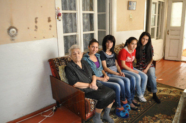 The Hovhannisyan family, who struggle to make ends meet, are CASP recipients.