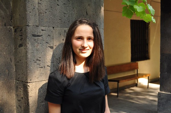 Eighteen-year-old Lily Khachatryan is one of the 27 students recently selected for FAR's Mathevosian Scholarship