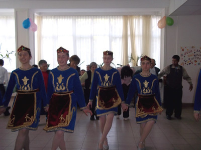 Dance Performance during the celebration of International Day for Elderly