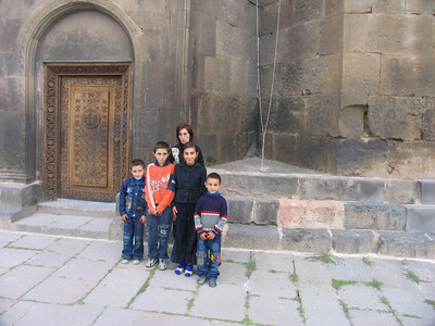 Grigoryan Family from Sisian (all children are CASP beneficiaries)