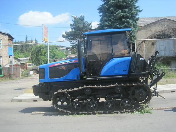 A new tractor to bring new life to the city of Berd