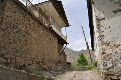 Old houses in Meghri, photo by Levon